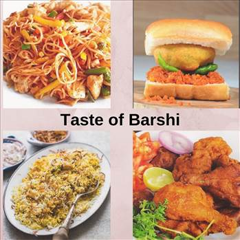 Popular Street Foods in Barshi by tasteofcity