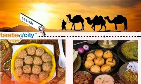 Delicious Dish of Rajasthan - Daal Baati Churma.jpg by tasteofcity
