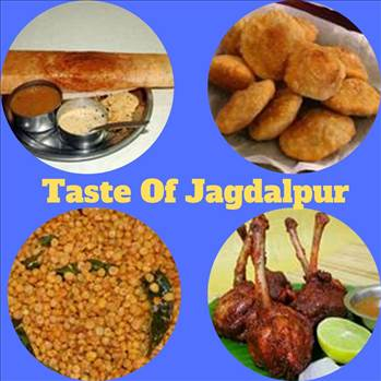 Street foods in Jagdalpur by tasteofcity