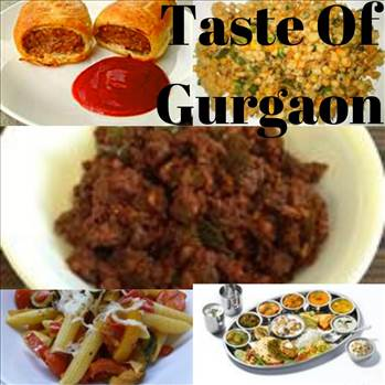 Street foods in Gurgaon by tasteofcity