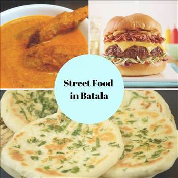 Street Food in Batala by tasteofcity