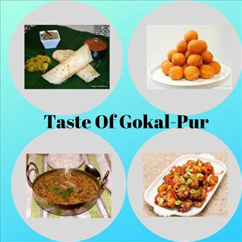 Famous foods of Gokal Pur by tasteofcity