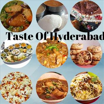 Famous foods of Hyderabad by tasteofcity