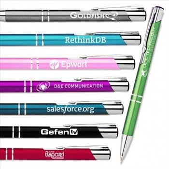 Engraved Slim line Metal Pen by Express Promo.jpg by Expresspromo
