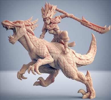 Tamaya Princess on Raptor.jpg by eyebreaker7