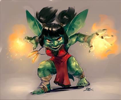 Big ears female goblin wizard.png by eyebreaker7