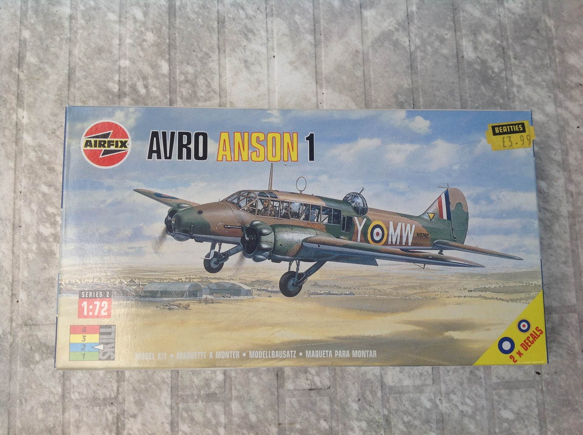 Avro Anson Mk1 +++ FINISHED +++ - Airfix: The Golden Years GB