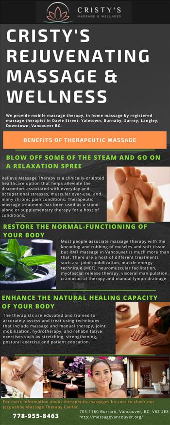 Benefits of Therapeutic Massage.png by massagevancouver