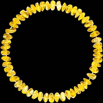 LEMON NUGGETS STYLE POLISHED Bracelet by amberosbabies