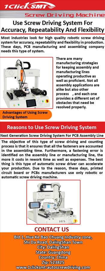 Use Screw Driving System For Accuracy, Repeatability And Flexibility.jpg by autoscrewdriving