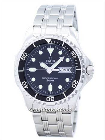 Ratio II Free Diver Professional 200M Sapphire Quartz 36JL140 Men's Watch.jpg by ratiowatches