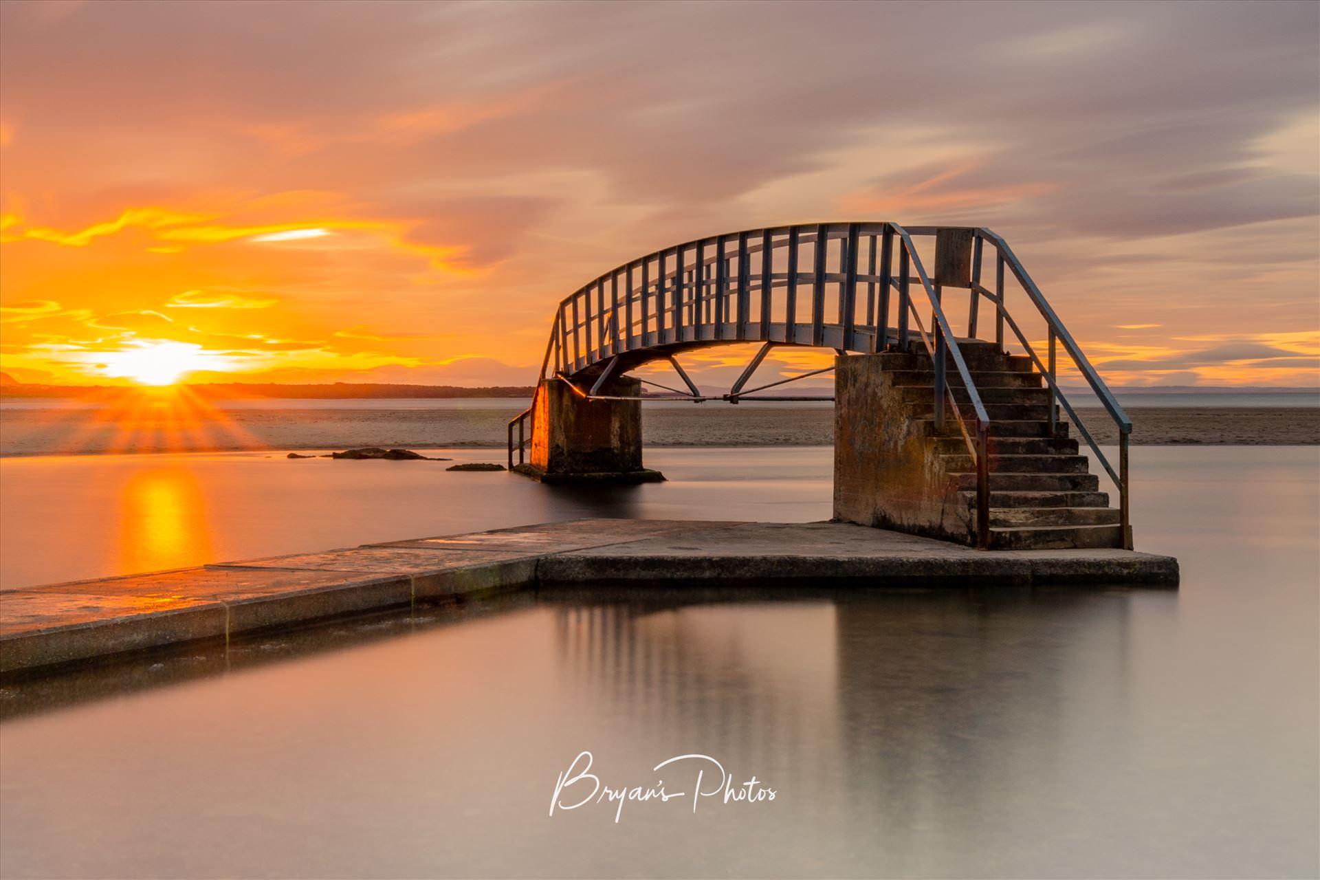 Belhaven Bridge Landscape A photograph of the Belhaven Bridge at Dunbar taken at sunset. by Bryans Photos