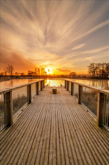 Sunrise at Larbert Loch by Bryans Photos
