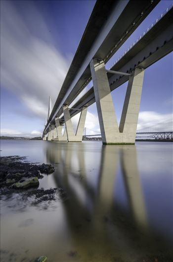 Queensferry Crossing Portrait by Bryans Photos