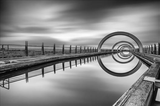The Falkirk Wheel by Bryans Photos