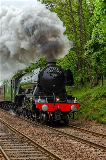 Flying Scotsman Portrait by Bryans Photos