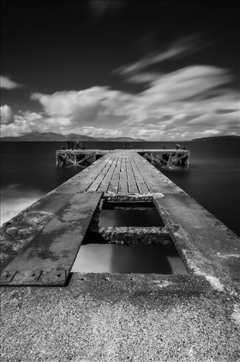 Portencross Pier by Bryans Photos