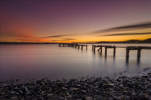 Sunset at Aberdour by Bryans Photos