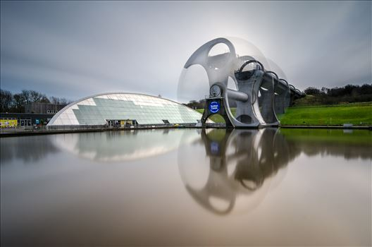 Falkirk Wheel In Motion by Bryans Photos
