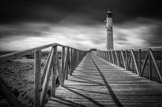 Morro Jable Lighthouse by Bryans Photos