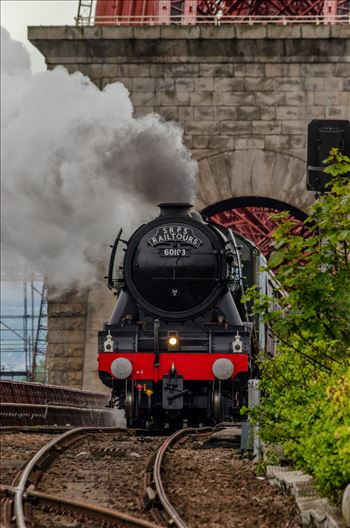 60103 and the Rail Bridge by Bryans Photos