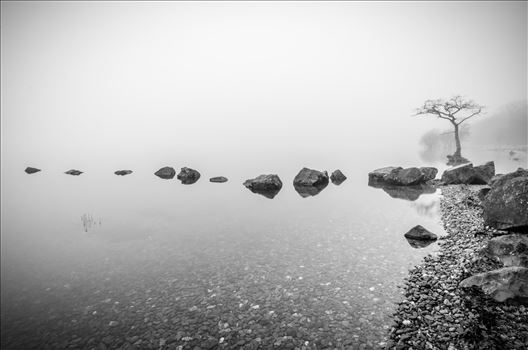 Loch Lomond In The Mist by Bryans Photos