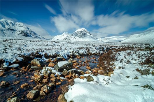 Bauchaille Etive Mor by Bryans Photos