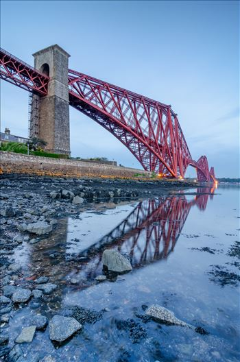The Rail Bridge Portrait by Bryans Photos