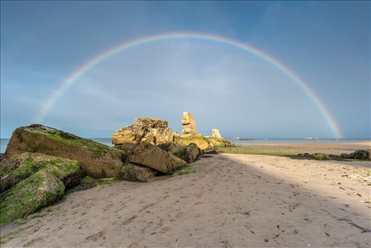 Rainbow at Seafield by Bryans Photos