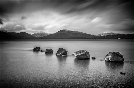 Milarrochy Rocks Landscape by Bryans Photos