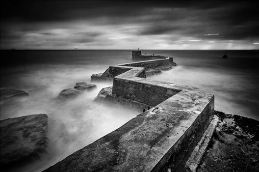St Monans Breakwater by Bryans Photos