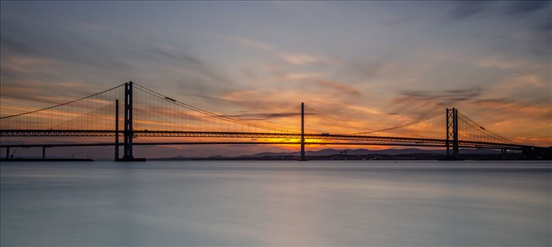 Road Bridges at Sunset by Bryans Photos