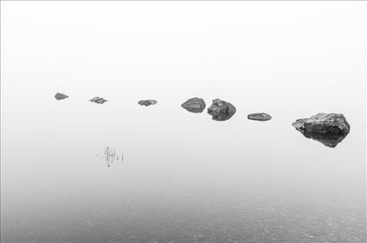 Loch Lomond Rocks by Bryans Photos