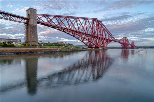 Rail Bridge Reflections by Bryans Photos