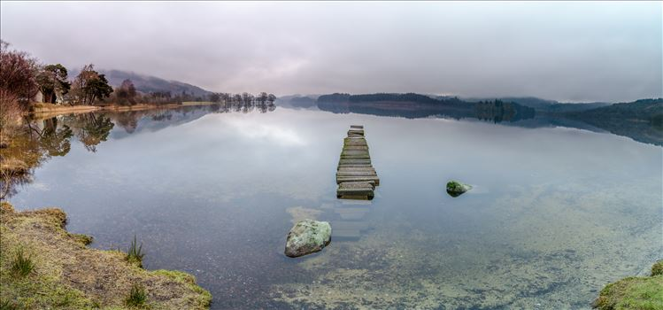 Loch Ard Panorama by Bryans Photos