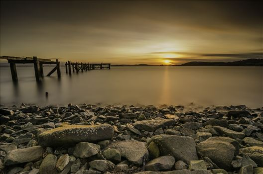 Sunset at Hawkscraig by Bryans Photos