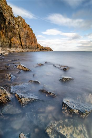 Hawkcraig Point Portrait by Bryans Photos