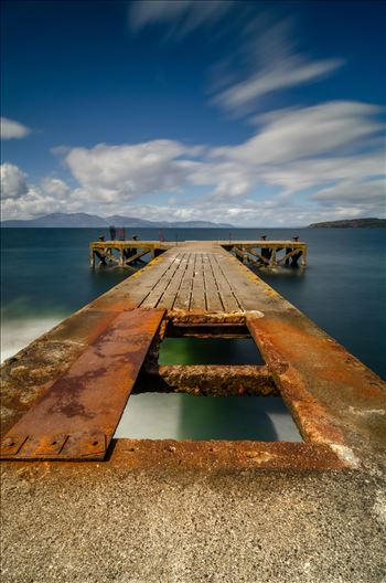 Pier at Portencross by Bryans Photos
