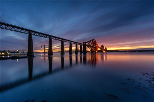 South Queensferry Sunset by Bryans Photos