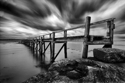 Historic Pier at Culross by Bryans Photos