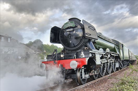 The Flying Scotsman by Bryans Photos