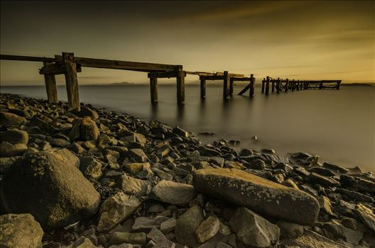 Hawkscraig Pier by Bryans Photos