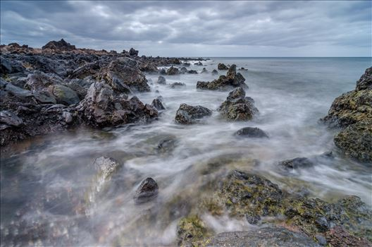 Volcanic Seascape by Bryans Photos