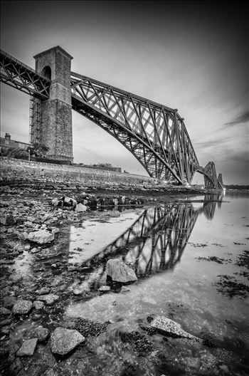Rail Bridge Portrait by Bryans Photos