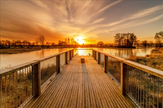 Larbert Loch Sunrise by Bryans Photos