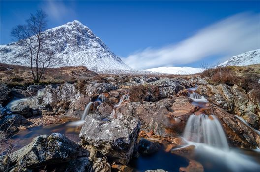 Etive Mor Falls by Bryans Photos