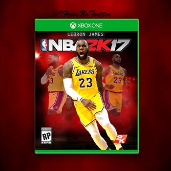 LEBRON JAMES 2K17 COVER.png by rylie