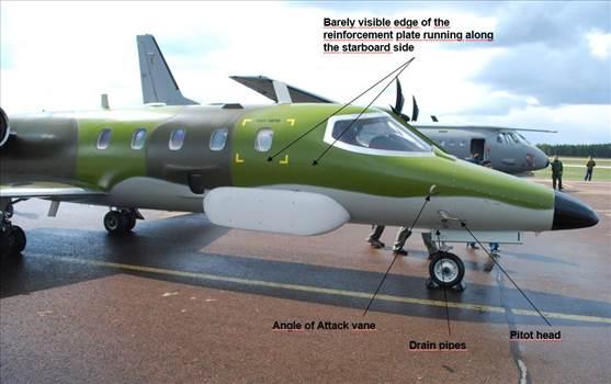 Learjet_nose.JPG by Studios Jardin