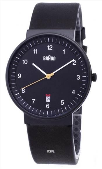 Braun Classic BN0032BKBKG Analog Quartz Men's Watch.jpg by Jason