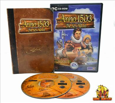 Anno 1503 The New World Case, Manual & Discs.jpg by GSGAMEHUNTERS
